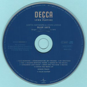 Justin Hayward & John Lodge - Blue Jays (1975) {2004, Remastered}