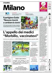 la Repubblica Milano – 23 aprile 2019