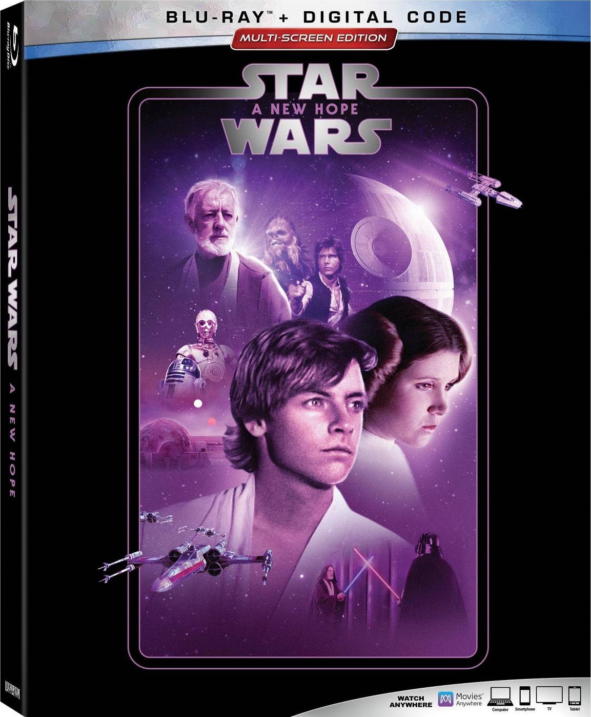 Star Wars (1977) Star Wars: Episode IV - A New Hope [35mm No-DNR Edition]