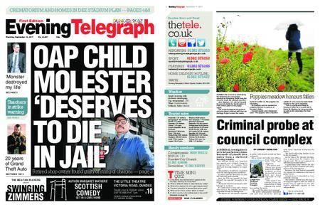 Evening Telegraph First Edition – September 14, 2017
