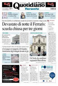 Quotidiano di Puglia Taranto - 8 Febbraio 2017