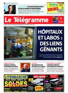 Le Télégramme Concarneau – 11 janvier 2020