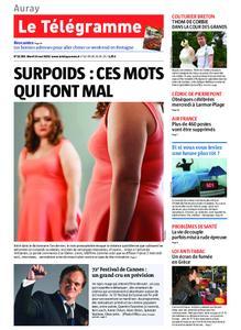 Le Télégramme Auray – 14 mai 2019