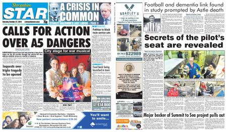 Shropshire Star Shrewsbury Edition – October 22, 2019