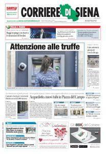 Corriere di Siena - 9 Febbraio 2017