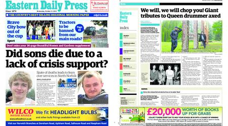 Eastern Daily Press – October 31, 2018