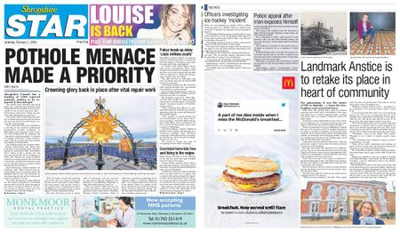 Shropshire Star Shrewsbury Edition – February 01, 2020