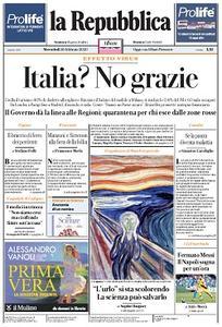 la Repubblica - 26 Febbraio 2020