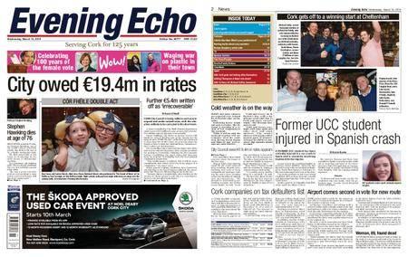 Evening Echo – March 14, 2018