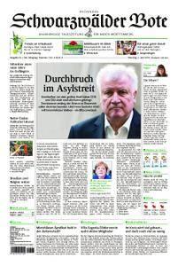 Schwarzwälder Bote Hechingen - 03. Juli 2018