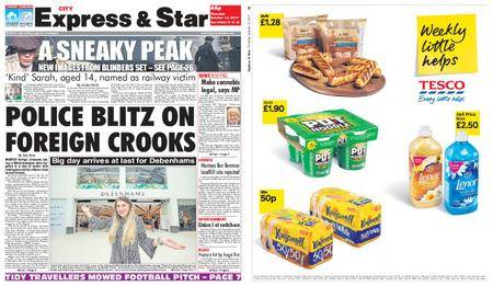 Express and Star City Edition – October 12, 2017