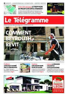 Le Télégramme Brest Abers Iroise – 18 août 2020