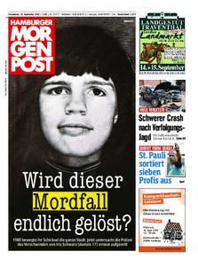 Hamburger Morgenpost – 14. September 2019