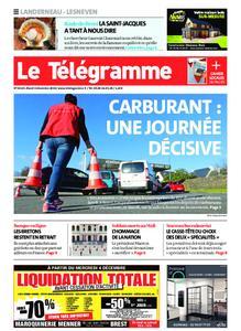 Le Télégramme Landerneau - Lesneven – 03 décembre 2019