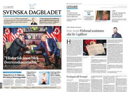 Svenska Dagbladet – 13 juni 2018