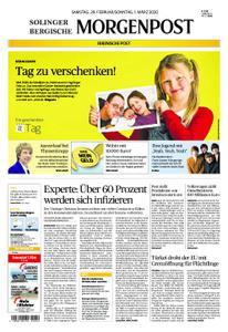 Solinger Morgenpost – 29. Februar 2020