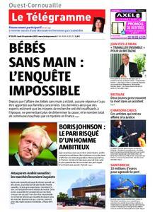Le Télégramme Ouest Cornouaille – 16 septembre 2019