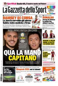 La Gazzetta dello Sport Roma – 11 gennaio 2019