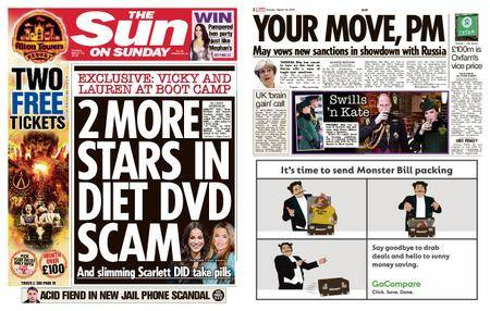 The Sun UK – 18 March 2018