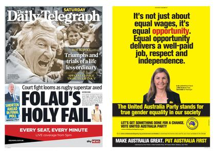 The Daily Telegraph (Sydney) – May 18, 2019