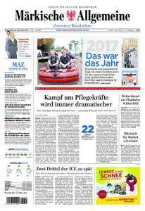 Märkische Allgemeine Zossener Rundschau - 28. Dezember 2017
