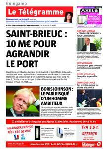 Le Télégramme Guingamp – 16 septembre 2019