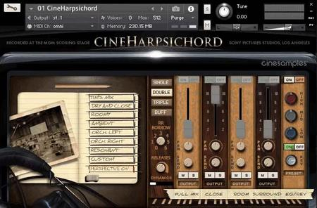 Cinesamples CineHarpsichord KONTAKT