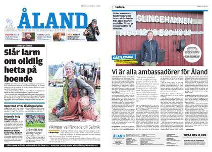 Ålandstidningen – 30 juli 2018