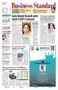 Business Standard - April 10, 2018