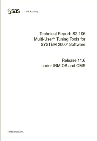 Multi-User Tuning Tools for SYSTEM 2000® Software