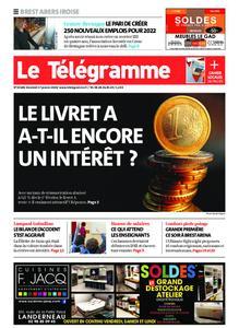 Le Télégramme Brest Abers Iroise – 17 janvier 2020