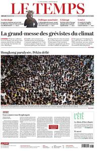 Le Temps - 06 août 2019