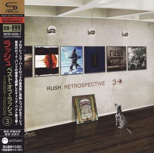 Rush - Retrospective III: 1989-2008 (2009) [CD + DVD] Repost