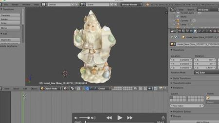 3d scanning course training for vector software; 3d printing