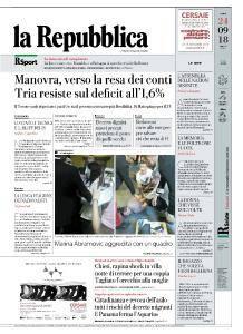 la Repubblica - 24 Settembre 2018