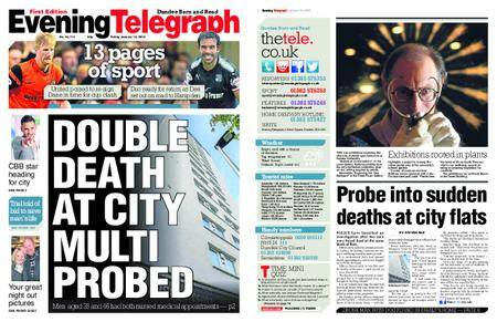 Evening Telegraph First Edition – January 19, 2018