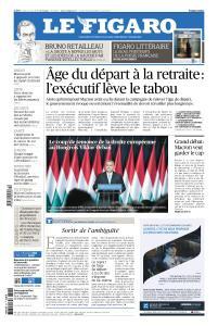 Le Figaro du Jeudi 21 Mars 2019