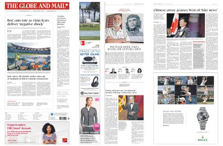 The Globe and Mail – March 05, 2020