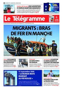 Le Télégramme Brest Abers Iroise – 10 septembre 2021
