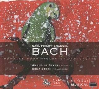 Carl Philipp Emanuel Bach - Sonates pour Violon et pianoforte