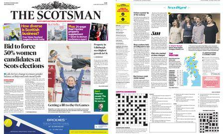 The Scotsman – March 22, 2018