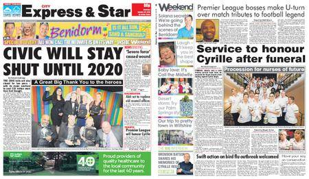 Express and Star City Edition – January 20, 2018
