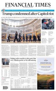 Financial Times Europe - January 8, 2021