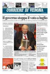 Corriere di Verona - 21 Aprile 2020