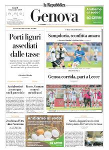 la Repubblica Genova - 9 Dicembre 2019