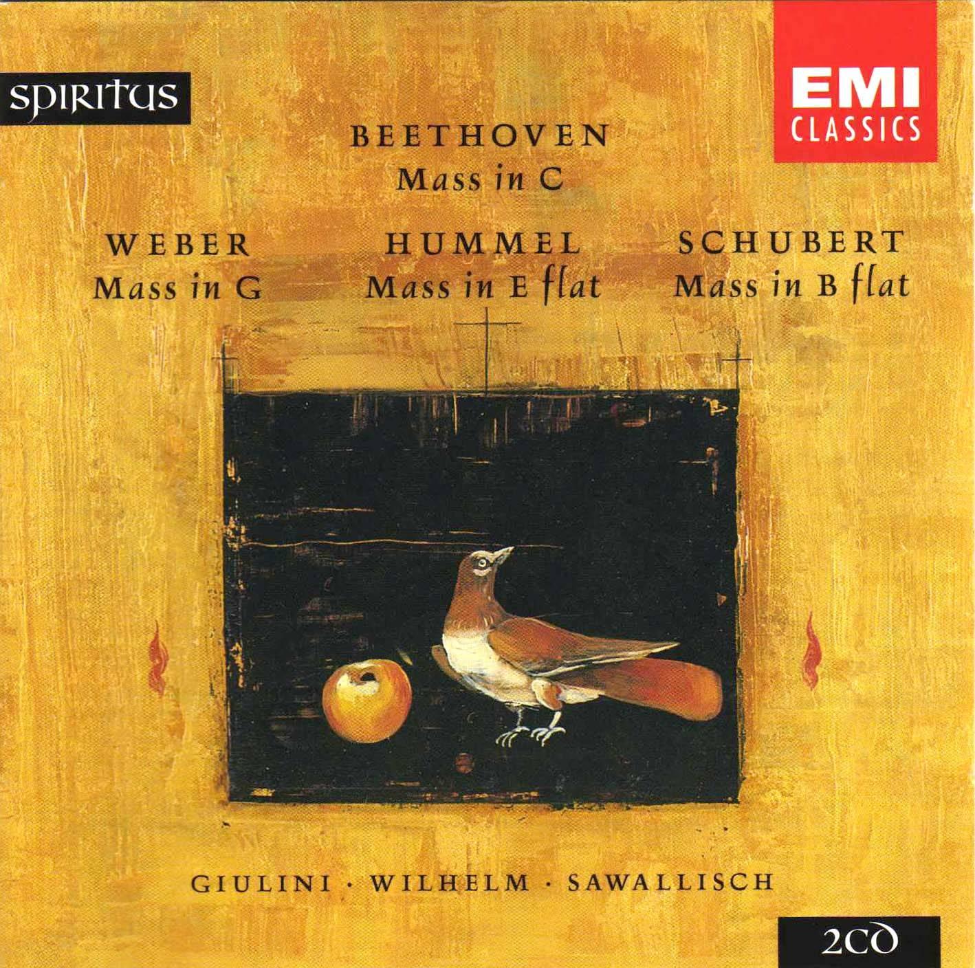 Beethoven - Weber - Hummel - Schubert; Spiritus