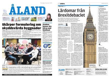 Ålandstidningen – 17 januari 2019