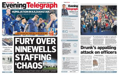 Evening Telegraph First Edition – March 22, 2019