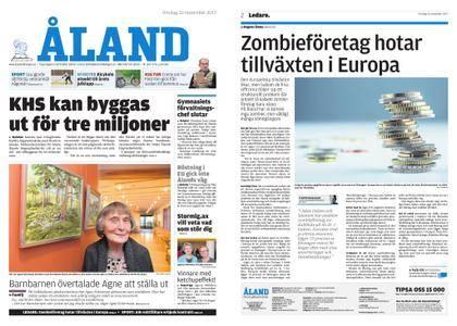 Ålandstidningen – 22 november 2017