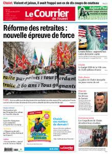 Le Courrier de l'Ouest Cholet – 10 décembre 2019